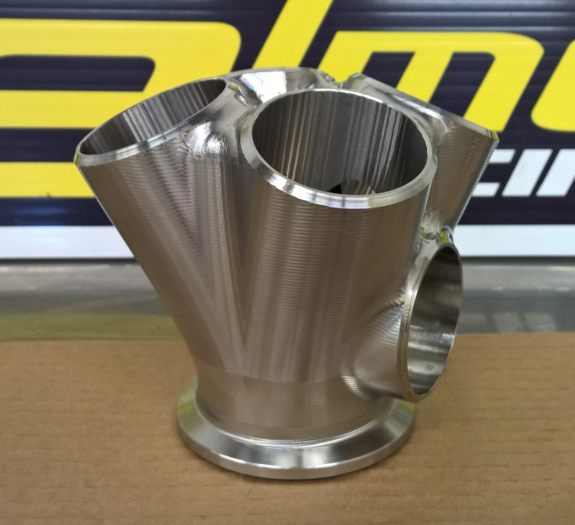 Small Precision Turbo: Turbo Merge Collectors: 4 To Precision V-band Stainless