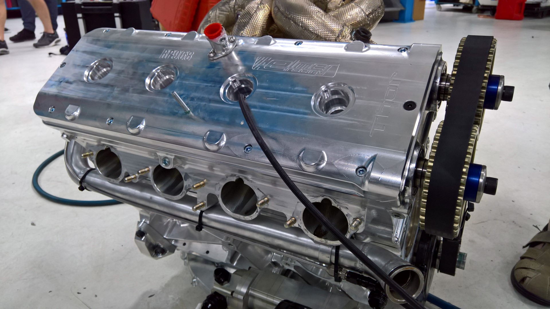 Thor 4000cc 1500/3000hp complete engine package